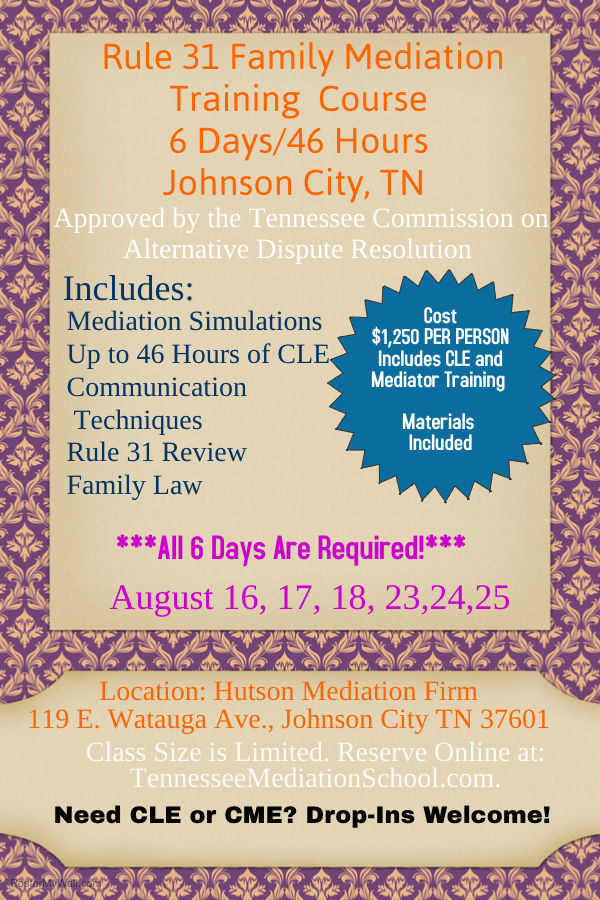 august rule 31 family mediation course my blog